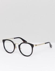 Очки кошачий глаз в черной оправе Marc Jacobs - Черный