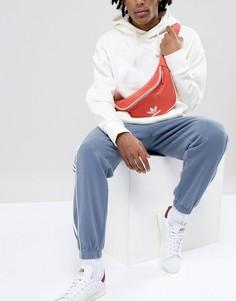 Красная сумка-кошелек на пояс adidas Originals adicolor CW0611 - Красный