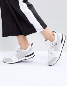 Беговые кроссовки Love Moschino - Белый