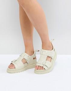 Белые кожаные сандалии Dr.Martens Kimilah - Белый