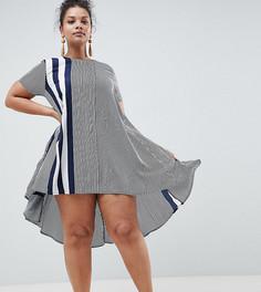 Свободное платье в полоску AX Paris Plus - Мульти