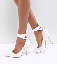 Туфли-лодочки с завязками Be Mine Bridal Witch-Hazel - Белый
