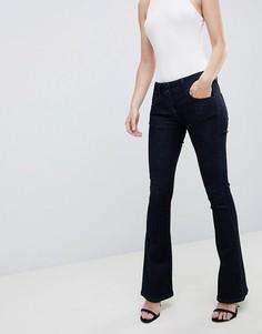 Расклешенные джинсы цвета индиго с заниженной талией ASOS DESIGN - Синий