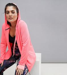 Розовая жаккардовая куртка с капюшоном Nola - Черный