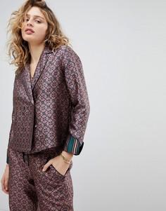 Двубортная пижамная рубашка Maison Scotch - Мульти