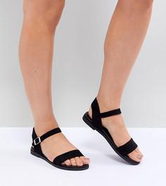 Сандалии для широкой стопы New Look - Черный