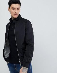 Черная куртка Харрингтон River Island - Черный