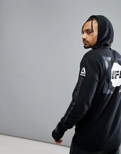 Черный худи Reebok Combat x UFC CG0614 - Черный
