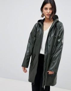 Водонепроницаемая куртка в горошек Y.A.S - Зеленый