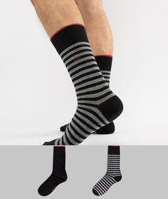 Носки с полосками Calvin Klein - Черный