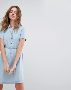 Платье-рубашка из лиоцелла Tencel от Jack Wills Lowestoft - Синий