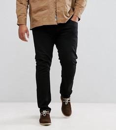 Черные зауженные джинсы Lee PLUS Luke - Черный
