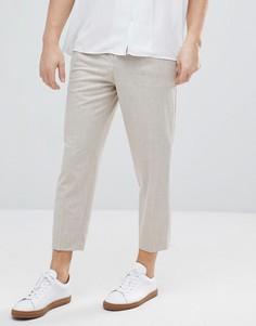 Зауженные брюки ASOS - Светло-бежевый