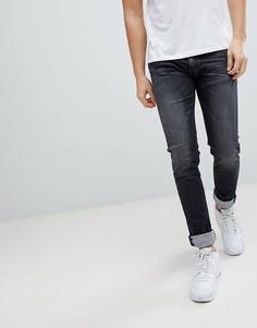 Черные выбеленные джинсы скинни Replay Jondrill - Черный