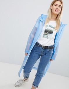 Куртка-дождевик молочного цвета ASOS DESIGN - Белый
