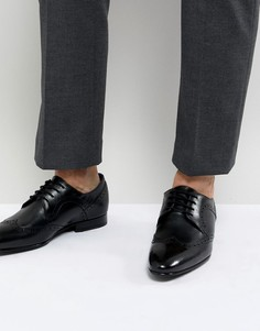 Черные кожаные броги Ted Baker Ollivur - Черный