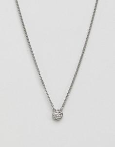 Серебристое ожерелье Dyrberg Kern - Серебряный