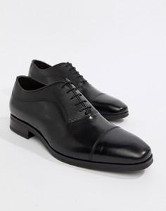 Кожаные оксфордские туфли Kurt Geiger London Austin - Черный
