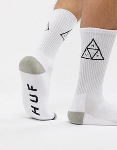 Белые носки с треугольниками HUF - Белый