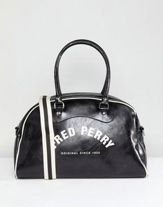 Черная классическая сумка-портплед Fred Perry - Черный