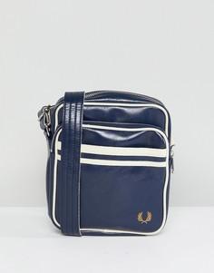 Темно-синяя классическая сумка для авиапутешествий Fred Perry - Темно-синий