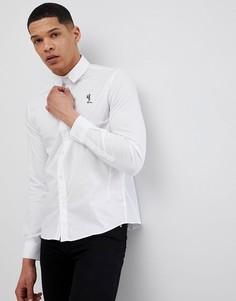 Белая рубашка скинни Religion - Белый