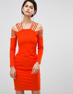 Платье с бретельками Forever Unique - Красный