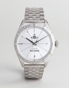 Серебристые часы-браслет Vivienne Westwood VV192SLSL Conduit - Серебряный