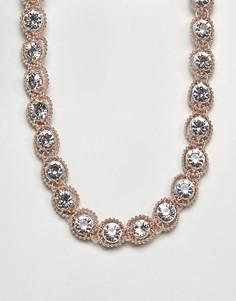 Ожерелье с камнями Coast Zuri - Золотой