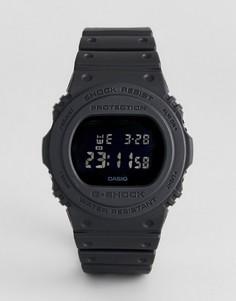 Черные силиконовые цифровые часы G-Shock DW-5750E-1BER Heritage - Черный