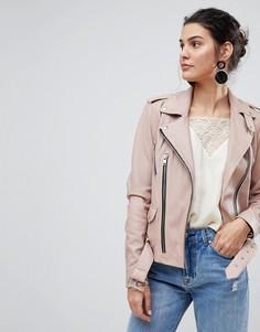 Кожаная куртка Y.A.S - Розовый