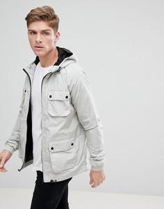 Серый дождевик с карманами Burton Menswear - Серый