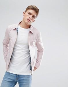 Розовая куртка Харрингтон Burton Menswear - Розовый