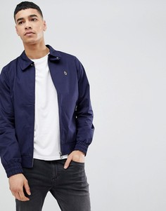 Темно-синяя куртка Харрингтон Luke Sport Brownhills Mafia - Темно-синий