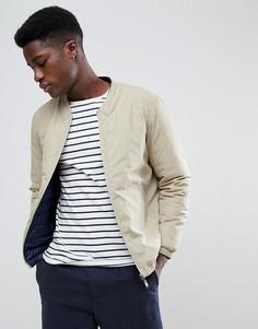 Двусторонняя стеганая куртка Selected Homme - Бежевый