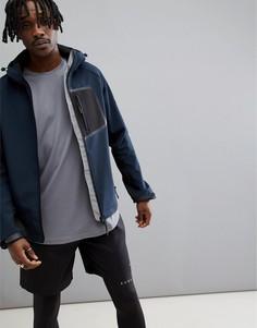 Куртка с флисовой подкладкой ASOS 4505 - Синий
