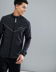 Спортивная куртка со вставками и светоотражающей отделкой ASOS 4505 - Черный