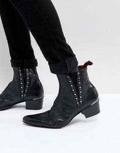 Ботинки с заклепками Jeffery West Murphy - Черный