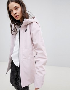 Розовая трикотажная куртка Nike Tech - Розовый