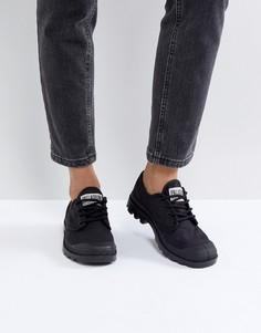 Черные кроссовки Palladium Pampa Ox Originale - Черный
