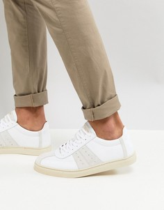 Кроссовки со вставками Selected Homme Premium - Белый