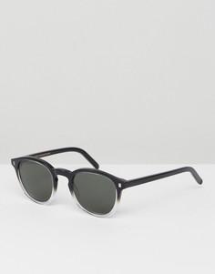 Квадратные солнцезащитные очки Monokel Eyewear Robotnik - Черный