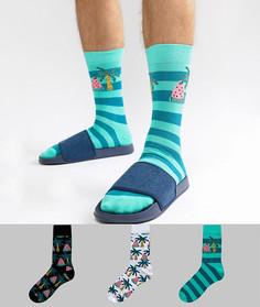 3 пары носков ASOS DESIGN - Мульти
