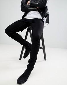 Черные джинсы скинни AllSaints - Черный