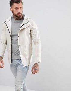 Фестивальная прорезиненная куртка Another Influence - Светло-бежевый