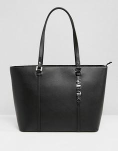 Черная сумка-тоут Valentino by Mario Valentino - Черный