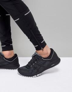 Черные кроссовки Asics Running Trail Alpine XT T828N-9716 - Черный