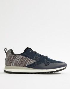 Сине-серые трикотажные кроссовки PS Paul Smith Rappid - Темно-синий