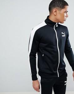 Черная спортивная куртка Puma Archive T7 57265801 - Черный