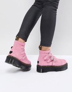 Розовые ботинки Dr Martens x Lazy Oaf - Розовый